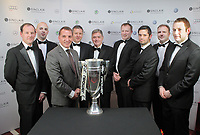 Pictured: Brendan Rodgers with guests.<br /> Re: Premier Club Christmas Dinner for Swansea City FC, at the Liberty Stadium, south Wales. Thursday 08 December 2011