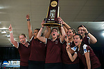 14 APR 2012: The University of Maryland Eastern Shore team celebrates with the trophy during the Division I Womens Bowling Championship held at Freeway Lanes in Wickliffe, OH.  The University of Maryland Eastern Shore defeated Fairleigh Dickinson 4-2 to win the national title.  Jason Miller/NCAA Photos