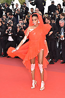 """MAY 21 Winnie Harlow at """"Once Upon A Time In Hollywood"""" screening in Cannes"""