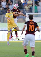 Federico Dionisi Konstantinos Manolasduring italian serie a soccer match between Frosinone e Roma