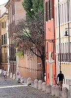 Una veduta di Corso Ercole d'Este a Ferrara<br /> A view of Corso Ercole d'Este in Ferrara.<br /> UPDATE IMAGES PRESS/Riccardo De Luca