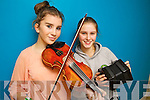 Megan and May Barry (Ballydonoghue) pictured at Ceoltas Ceoltoiri Eireann finals held in IT Tralee on Saturday morning.