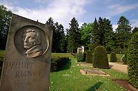 Deutschland, Hamburg, Friedhof Ohlsdorf, Grab Philipp Otto Runge