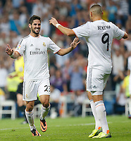 MADRI, ESPANHA, 22.09.2013 - CAMP. ESPANHOL - REAL MADRID X GETAFE - Isco do Real Madrid durante partida contra o Getafe pela quinta rodada do Campeonato Espanhol, neste domingo, 22. (Foto: Cesar Cebolla / Brazil Photo Press).