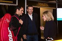 Rotterdam, Netherlands, 11 februari, 2018, Ahoy, Tennis, ABNAMROWTT, Arival of Roger Federer, <br /> Photo: Henk Koster/tennisimages.com