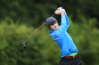Conor Lawless (Athenry) on the 1st tee during the Connacht U12, U14, U16, U18 Close Finals 2019 in Mountbellew Golf Club, Mountbellew, Co. Galway on Monday 12th August 2019.<br /> <br /> Picture:  Thos Caffrey / www.golffile.ie<br /> <br /> All photos usage must carry mandatory copyright credit (© Golffile | Thos Caffrey)