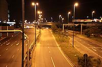 SAO PAULO, SP, 24.05.2015 - TRÂNSITO-SP - Vista da Marginal Tietê em cima da Ponte das Bandeiras sentido rodovia Ayrton Senna, região norte de São Paulo, SP, neste domingo, 24. (Foto: Fernando Neves/ Brazil Photo Press)