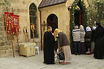Jerusalem, the Chapel of St. John the Baptist at the Russian Orthodox Convent of the Ascension on the Mount of Olives