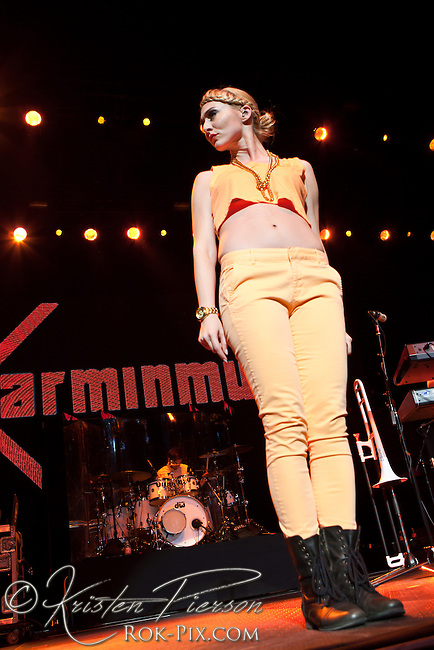 Karmin performs at Mohegan Sun Arena July 23, 2013<br />