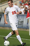 15 November 2009: Virginia's Will Bates. The University of Virginia Cavaliers defeated the North Carolina State University Wolfpack at WakeMed Stadium in Cary, North Carolina in the Atlantic Coast Conference Men's Soccer Tournament Championship game.