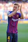 53e Trofeu Joan Gamper.<br /> Presentation 1st team FC Barcelona.<br /> Ivan Rakitic.