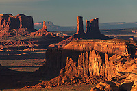 Monument Valley viewed from Hunts Mesa, Arizona