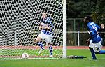 2015-10-25 / Voetbal / Seizoen 2015-2016 / FC Turnhout - KV Vosselaar / Alan Ven legde met de 3-1 de eindstand vast.<br /><br />Foto: Mpics.be