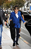 October 18 2017, PARIS FRANCE Ron Wood<br /> Guitarist of the Rolling Stones returns to the<br /> Georges V Hotel on Avenue Georges V. # LES ROLLING STONES FONT DU SHOPPING A PARIS
