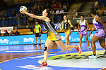 NELSON, NEW ZEALAND - DECEMBER 13: Super Club Netball Friday 13 December 2019 at Trafalgar Centre, New Zealand. (Photo by Shuttersport Limited)