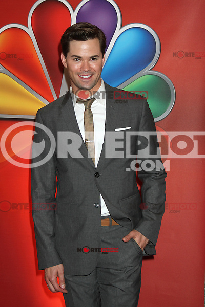 Andrew Rannells at NBC's Upfront Presentation at Radio City Music Hall on May 14, 2012 in New York City. ©RW/MediaPunch Inc.