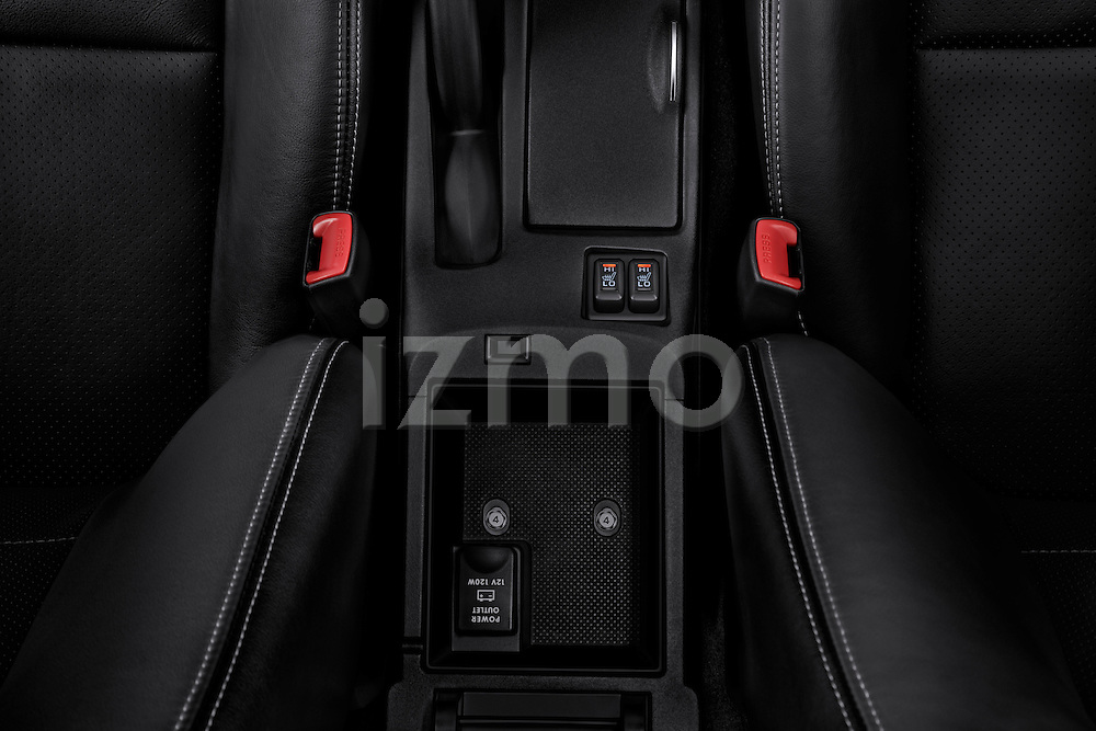 Heated seat climate controls on a 2012 Mitsubishi Lancer GT