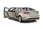 Car images of 2017 Ford Fusion Energi Plug-In Hybrid SE Luxury 4 Door Sedan Doors