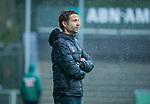 AMSTELVEEN - coach Xanti Freixa (Adam)  tijdens de hoofdklasse competitiewedstrijd mannen, Amsterdam-HCKC (1-0).  COPYRIGHT KOEN SUYK