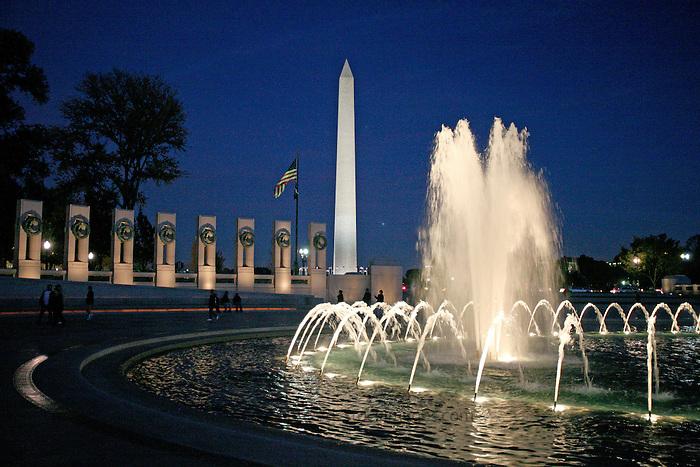 World War 2 Memorial Washington DC