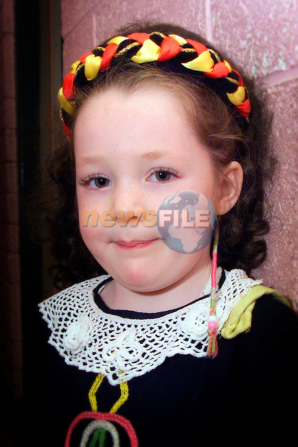 Ciara Brannigan, pictured at the Boyneside feis on Sunday..Picture: Arthur Carron/Newsfile