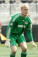 Jimmy Nielsen...Kansas City Wizards were defeated 1-0 by Columbus Crew at Community America Ballpark, Kansas City, Kansas.