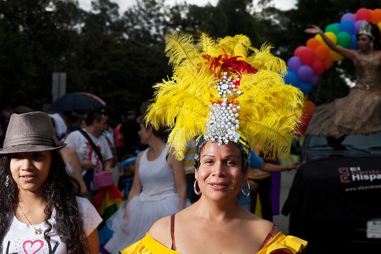 El Centro Hispano, 27th annual N.C. PRIDE parade in Durham, NC, Saturday, September 24, 2011.