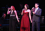 'Jekyll & Hyde' Reunion with Christiane Noll, Linda Eder and Robert Cuccioli with Billy Jay Stein (at piano) performing in 'A New Life' at The Town Hall on October 13, 2012 in New York City.