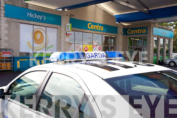 Hickeys shop, Rathmore, where the ATM  was broken into on Tuesday night.