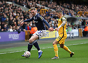 17th March 2019, The Den, London, England; The Emirates FA Cup, quarter final, Millwall versus Brighton and Hove Albion; Anthony Knockaert of Brighton & Hove Albion challenges Aiden O'Brien of Millwall