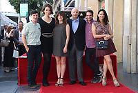 08 August 2017 - Hollywood, California - Rhys Ernst, Our Lady J, Kathryn Hahn, Jeffrey Tambor, Jay Duplass, Amy Landecker. Jeffrey Tambor Honored With A Star On The Hollywood Walk Of Fame. <br /> CAP/ADM/FS<br /> &copy;FS/ADM/Capital Pictures