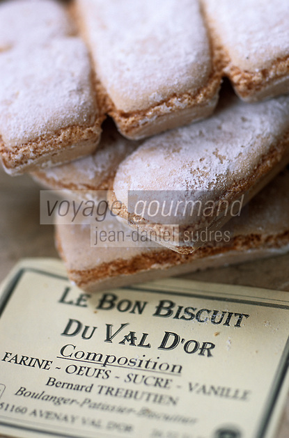 """Europe/France/Champagne-Ardenne/51/Marne/Avenay-Val-d'Or: """"Les biscuits du Val d'Or"""" de Bernard Trebutien - Boulanger-pâtissier-biscuitier"""