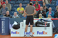 HAMBURGO, ALEMANHA, 25.06.2017 - OPEN-ALEMANHA - O tenista Tommy Hass durante partida contra Nicolas Kicker valido pelo German Open Tennis Championships na cidade de Hamburgo na Alemanha. (Foto:Michael Timm/ Brazil Photo Press)
