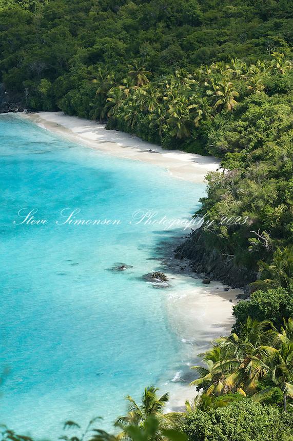 Little Cinnamon Bay.<br /> Virgin Islands National Park<br /> St John, U.S. Virgin Islands