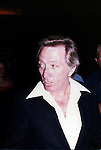 Andy Williams.Leaving the NBC Building in New York City..September 1979.