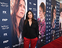 "NORTH HOLLYWOOD, CA - APRIL 19: Co-Creator/Executive Producer/Writer/Director Pamela Adlon attends the For Your Consideration Red Carpet event for FX's ""Better Things"" at the Wolf Theatre at Saban Media Center on April 19, 2018 in North Hollywood, California. (Photo by Frank Micelotta/FX/PictureGroup)"