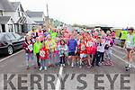 Pictured here some of the runners who took part in the 5K run in aid of St Finians NS School, Waterville on Saturday morning