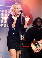 London - Pixie Lott performs at the Poppy Appeal 2012 Launch concert at Trafalgar Square, London - October 24th 2012..Photo by Mickey Townsend