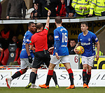 03.11.2018: St Mirren v Rangers: Ryan Jack booked
