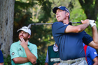 Matt Kuchar (USA) watches his tee shot on 17 during round 4 of the World Golf Championships, Mexico, Club De Golf Chapultepec, Mexico City, Mexico. 3/5/2017.<br /> Picture: Golffile | Ken Murray<br /> <br /> <br /> All photo usage must carry mandatory copyright credit (&copy; Golffile | Ken Murray)