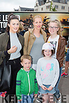 Frances McCarthy, Michelle, fionn and Hollie Spellman and Saoirse McCarthy at  Bikefest in Killarney on Sunday