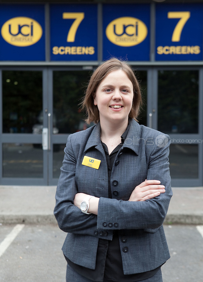15/7/2011.  UCI Stillorgan General Manager, Siobhan Carr  pictured at the opening of UCI Stillorgan. Picture Collins Photo Agency.