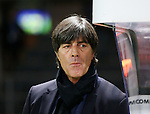 Germany's Joachim Low looks on during the International Friendly match at Olympiastadion.  Photo credit should read: David Klein/Sportimage