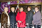 Grand Flowers<br /> --------------------<br /> Attending the demonstration in the Grand hotel on Monday night were L-R Marion Dillon, Shelia Sugrue, Ann Sullivan, Tralee and Margaret Griffin with her mother in law also Margaret Griffin from Killorglin.