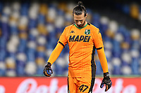 Andrea Consigli US Sassuolo dejection<br /> during the Serie A football match between SSC  Napoli and US Sassuolo at stadio San Paolo in Naples ( Italy ), July 25th, 2020. Play resumes behind closed doors following the outbreak of the coronavirus disease. <br /> Photo Cesare Purini / Insidefoto