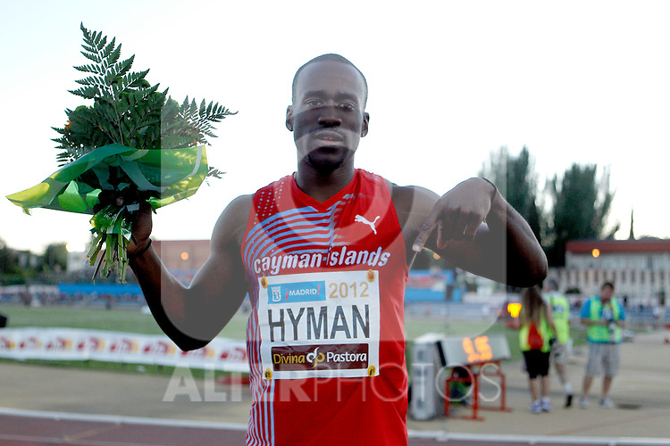 Hyman Kemar during Meeting Madrid 2012, Madrid 7 july 2012.(ALTERPHOTOS/ARNEDO)