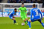 01.12.2018, wirsol Rhein-Neckar-Arena, Sinsheim, GER, 1 FBL, TSG 1899 Hoffenheim vs FC Schalke 04, <br /> <br /> DFL REGULATIONS PROHIBIT ANY USE OF PHOTOGRAPHS AS IMAGE SEQUENCES AND/OR QUASI-VIDEO.<br /> <br /> im Bild: Suat Serdar (FC Schalke 04 #8) gegen Kerem Demirbay (TSG Hoffenheim #10) und Pavel Kaderabek (TSG Hoffenheim #3)<br /> <br /> Foto &copy; nordphoto / Fabisch