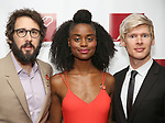Josh Groban, Denee Benton and Lucas Steele attends The New Dramatists' 68th Annual Spring Luncheon at the Marriott Marquis on May 16, 2017 in New York City.