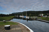 The Caledonian Canal at Dochgarroch, Inverness<br /> <br /> Copyright www.scottishhorizons.co.uk/Keith Fergus 2011 All Rights Reserved