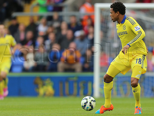 18.10.2014.  London, England. Premier League. Crystal Palace versus Chelsea. Loic Remy on the ball